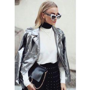 Jackets & Blazers - Metallic Zara Jacket